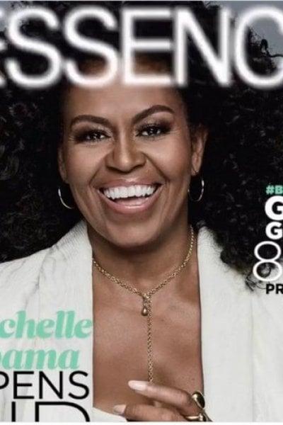 Michelle Obama per la prima volta con i capelli afro. L'orgoglio black in copertina