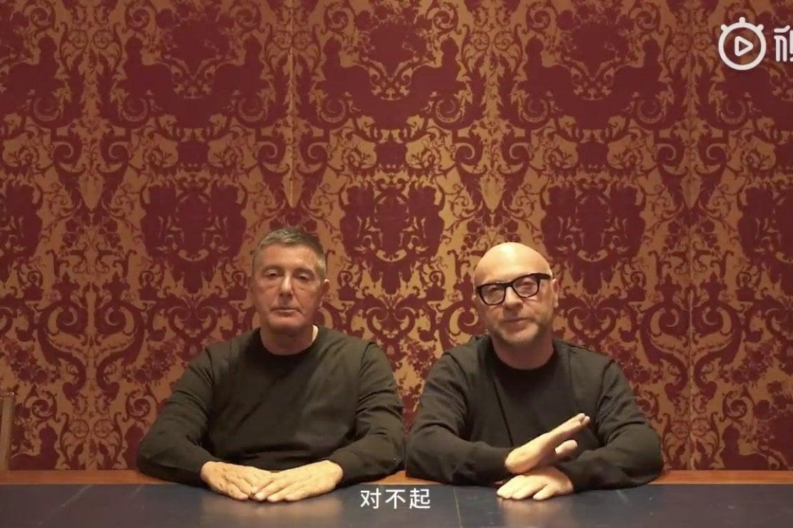 Dolce & Gabbana chiedono scusa alla Cina