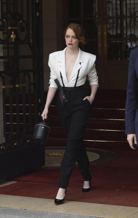 eb9464242b82 Emma Stone in Louis Vuitton