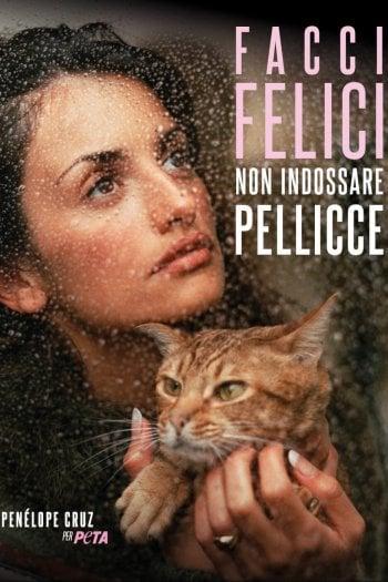 Penelope Cruz è la testimonial della nuova campagna PETA contro le pellicce