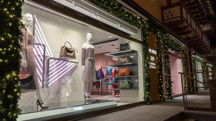Moda ad alta quota: Cortina Fashion Weekend