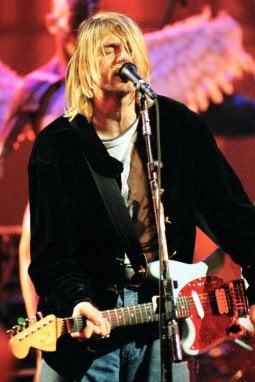 Kurt Cobain in concerto nel 1993