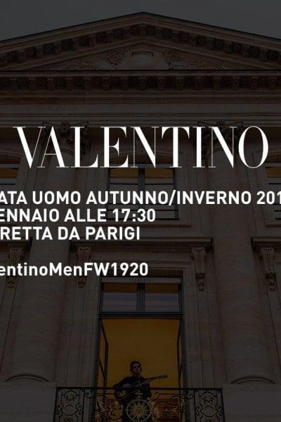 Valentino: la sfilata LIVE!