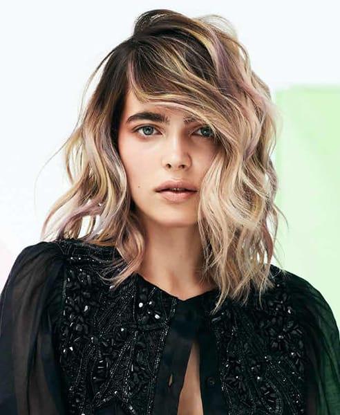 Tagli capelli medi con extension