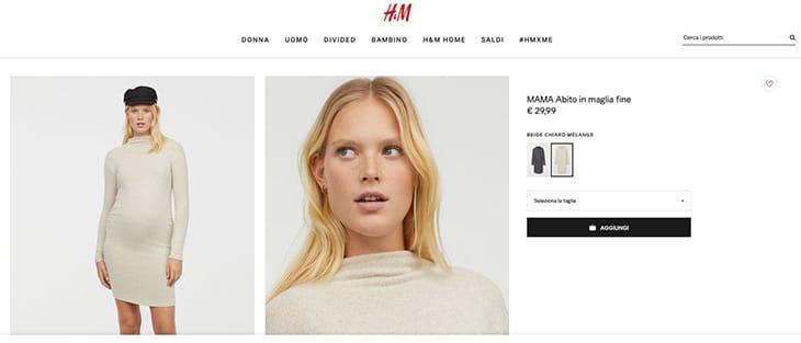 comprare on line 12218 6ff07 Meghan Markle e i bagarini della moda: l'abito di H&M sold ...