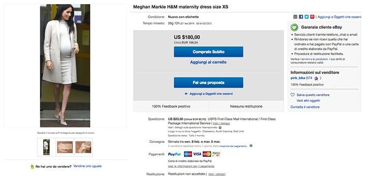 Screenshot da eBay