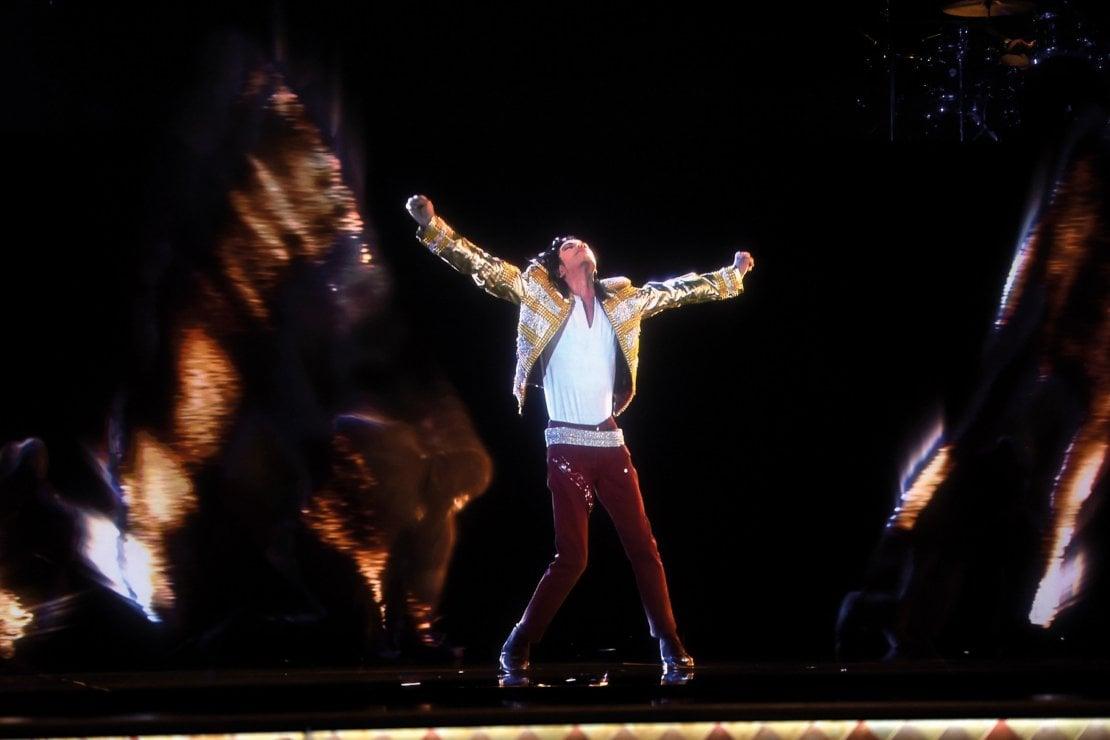 L'ologramma di Michael Jackson nel 2014 ai Billboard Award