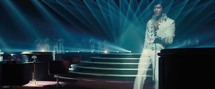 Elvis Presley rinato con gli effetti speciali.