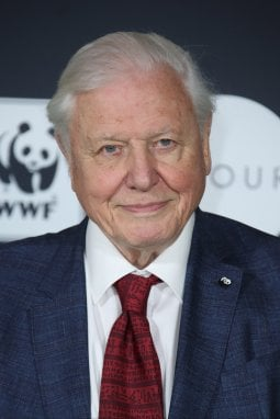 David Attenborough, narratore della serie di documentari prodotti da BBC Earth