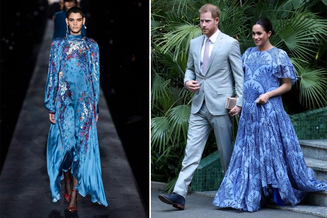 Il Meghan Effect arriva in passerella: Meghan Markle ispira la sfilata di Givenchy