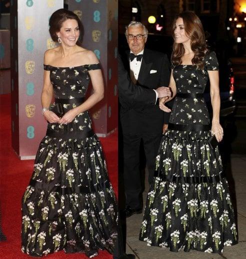 4e19e57a346f Kate Middleton   ricicla   ancora l abito per il Portrait Gala. Ed è ...