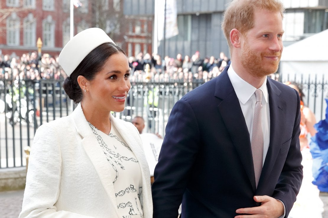L'ultima uscita pubblica dei duchi di Sussex è stata al Commonwealth Day, 11 marzo. Da allora Meghan Markle è in maternità