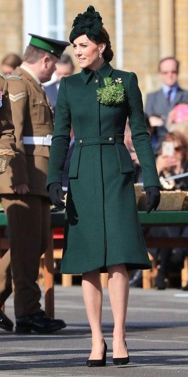 Kate Middleton alla Festa di San Patrizio: dal 2012 a oggi, gli outfit verdi a confronto
