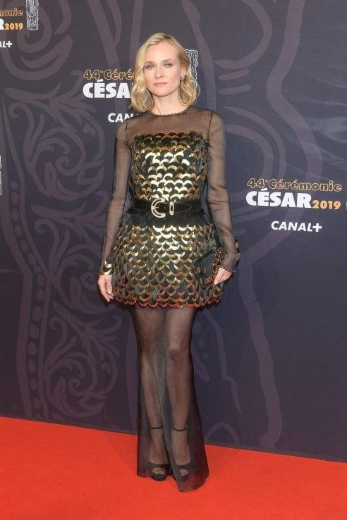 Diane Kruger in splendida forma a 5 mesi dalla nascita della figlia