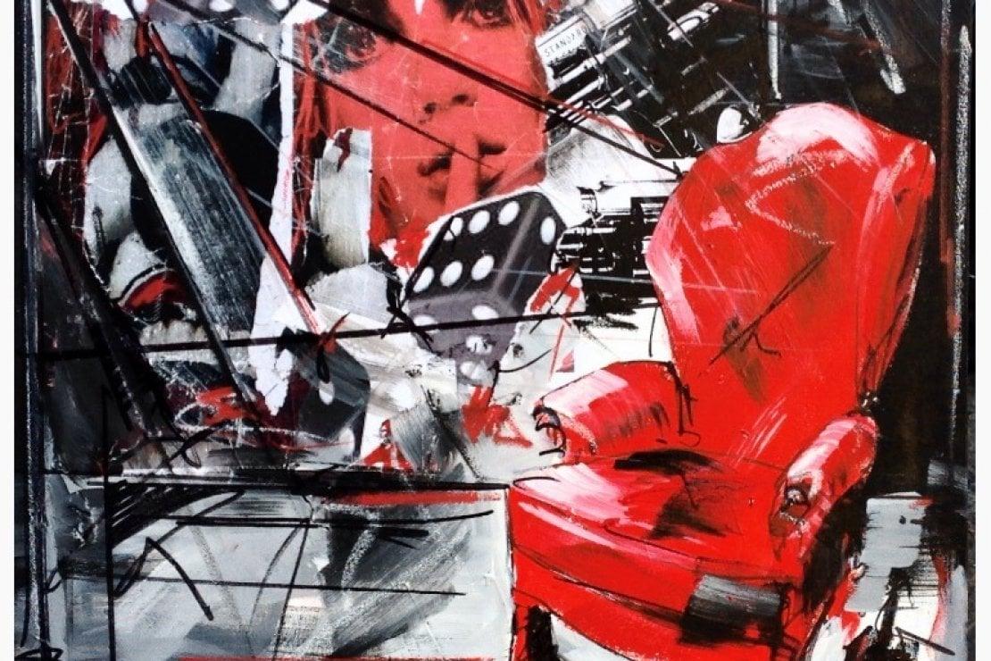 Marco Tamburro, artista italiano presente ad Artrooms Londra 2019