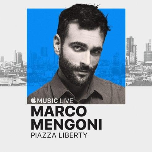 Marco Mengoni a Milano per Apple Music live