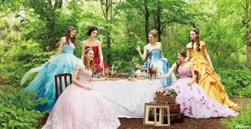 the best attitude 8755b 49dc9 Gli abiti da sposa ispirati alle principesse Disney - Moda ...