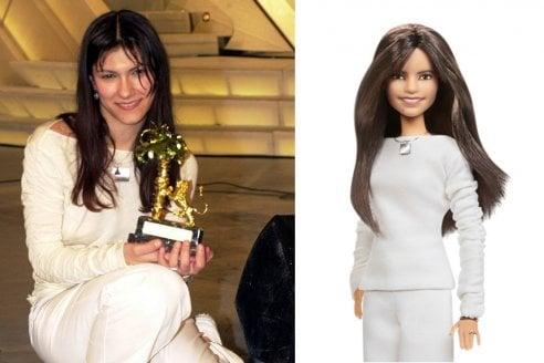 La cantante Elisa diventa una Barbie