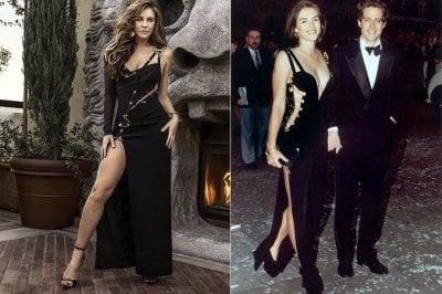 Elizabeth Hurley: a 53 anni nell'abito icona Versace che la rese celebre 25 anni fa