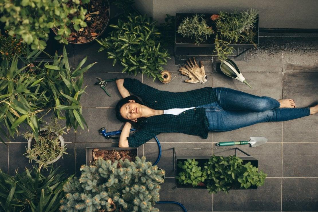 Curare le piante per coltivare noi stesse