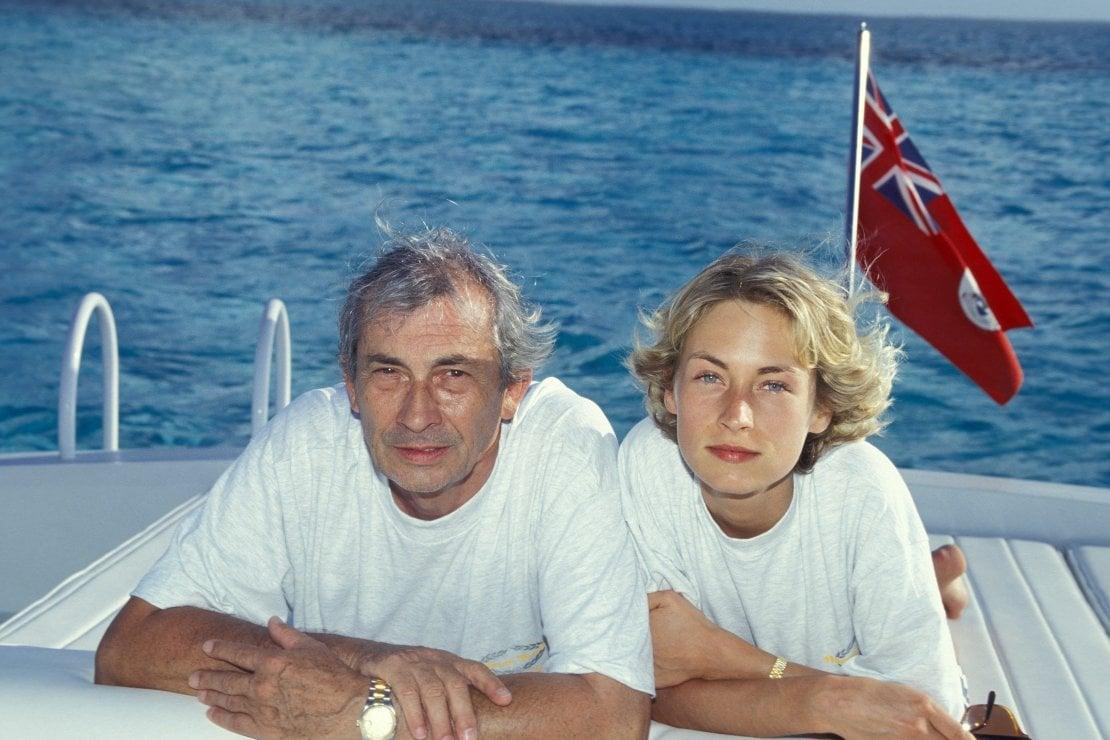 Nel 1994 con la sua compagna