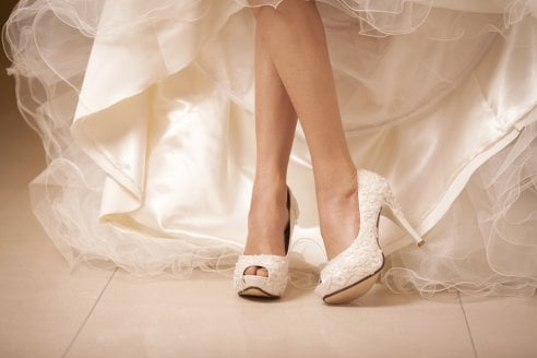 66f3c1c5ee71 15 scarpe da sposa col tacco alto  femminili ed eleganti - Moda - D ...