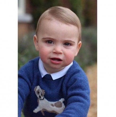 Tre nuovi ritratti del principino Louis nel giorno del suo primo compleanno