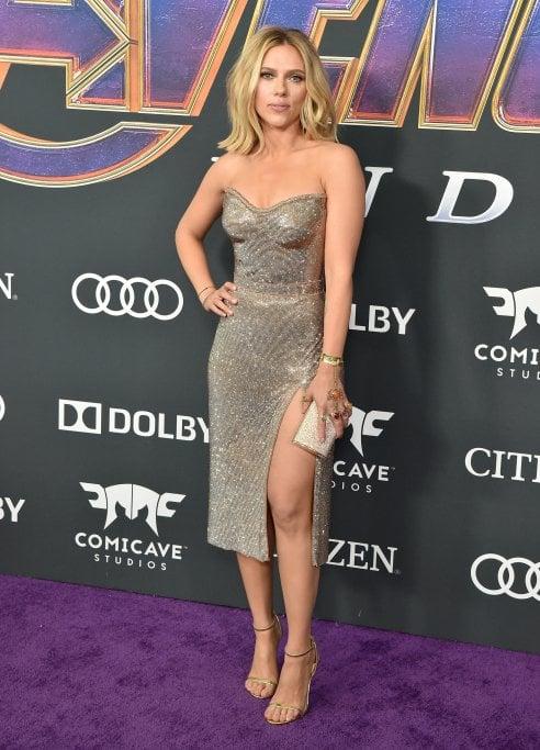 Scarlett Johansson e Brie Larson: le star di Avengers indossano gioielli con le ''Gemme dell'Infinito''