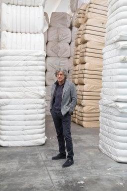 Sauro Guerri, proprietario dell'azienda Progetto Lana