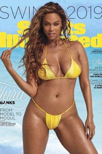 Tyra Banks, 45 anni, torna dopo 22 anni sulla copertina di Sports Illustrated Swimsuit