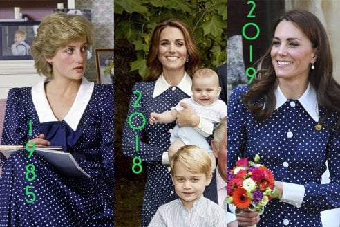quality design feb38 2e0b8 L'abito di Kate Middleton è un omaggio a Diana. Come tanti ...