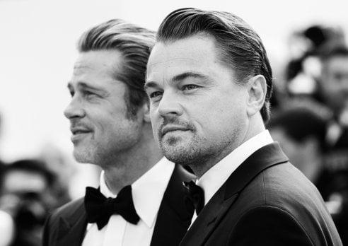 Cannes in delirio: Brad Pitt e Leonardo DiCaprio assieme sul red carpet