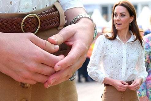 Kate e il mistero dei cerotti: perché la duchessa ha spesso le mani ferite?