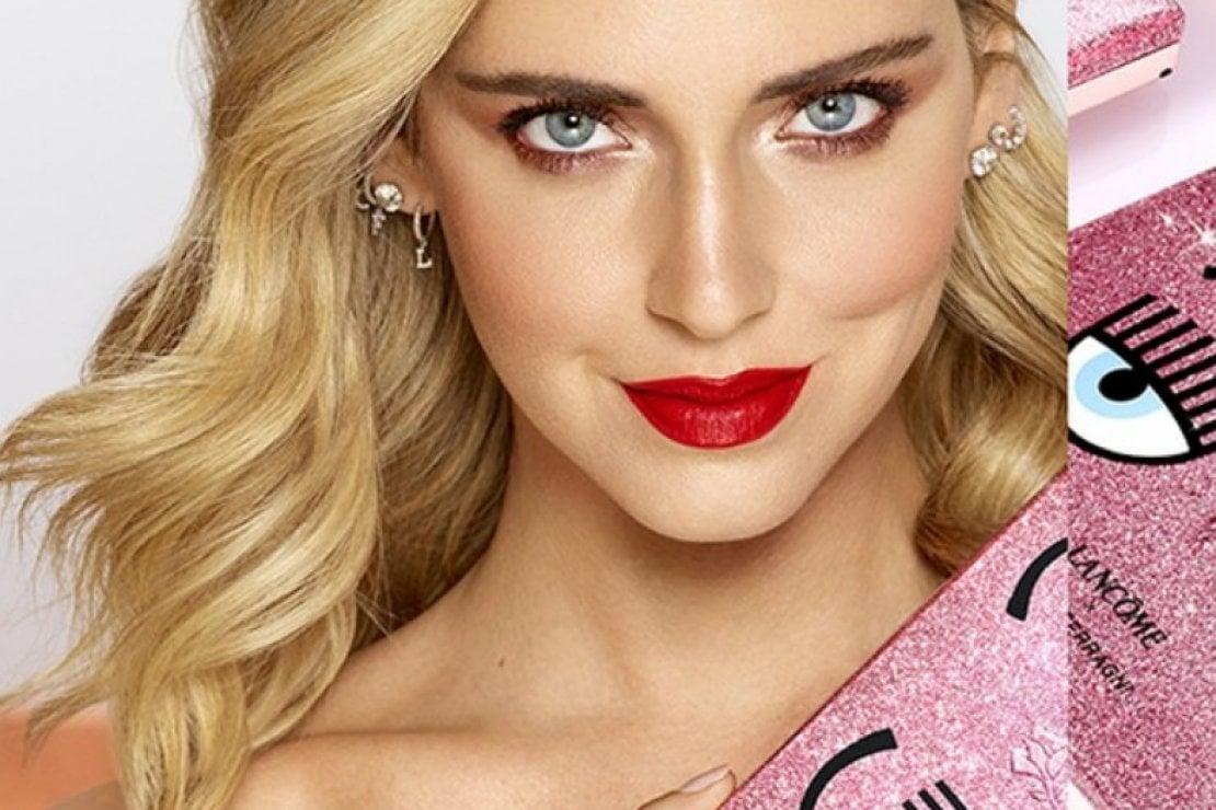 Chiara Ferragni e Lancôme: insieme per la prima make up collection tutta glitterata