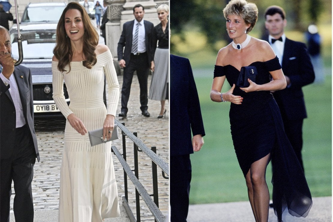 Kate Middleton come LadyD: un ''revenge dress'' per mostrarsi sicura di sé mentre girano voci di un tradimento di William