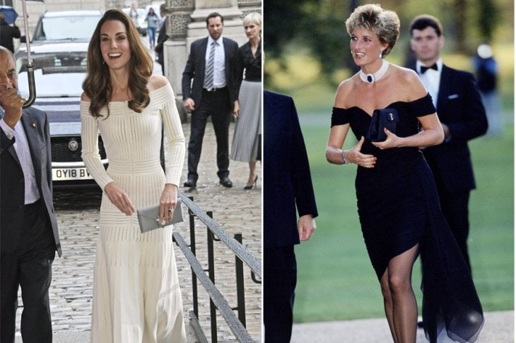 Kate Middleton come LadyD: un ''revenge dress'' per mostrarsi sicura di sé mentre girano voci di un tradimento di William