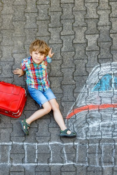 Tuo figlio è abbastanza grande per le vacanze da solo?