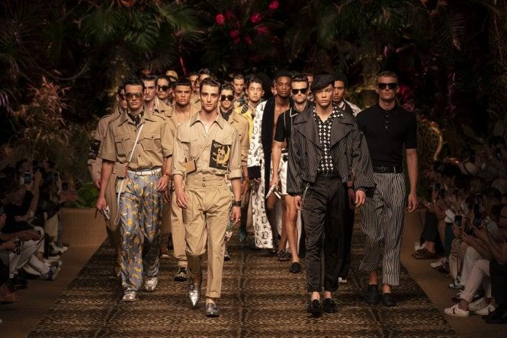Dolce&Gabbana mandano in passerella lo stile primavera estate 2020