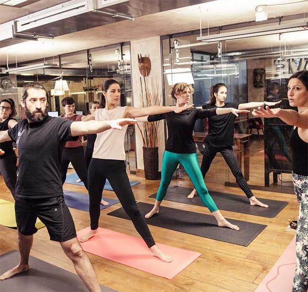 Susy Galante porta lo yoga in azienda