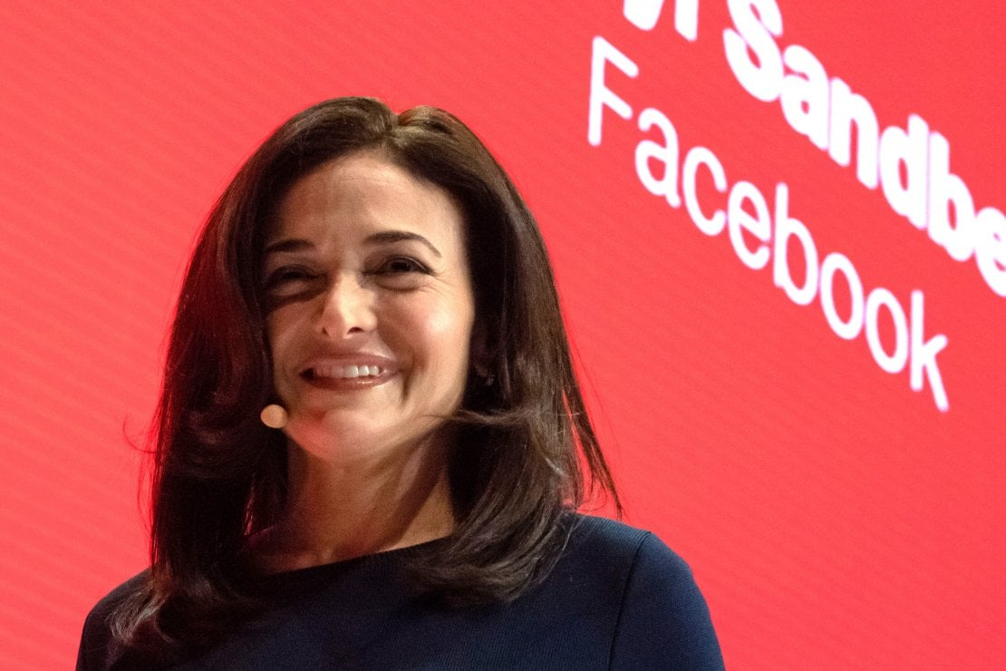 Sheryl Sandberg, managing director di Facebook