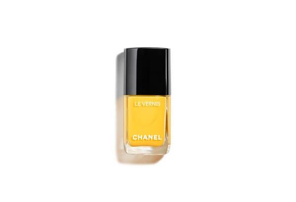 Smalto nella tonalità del giallo, Napoli, Chanel
