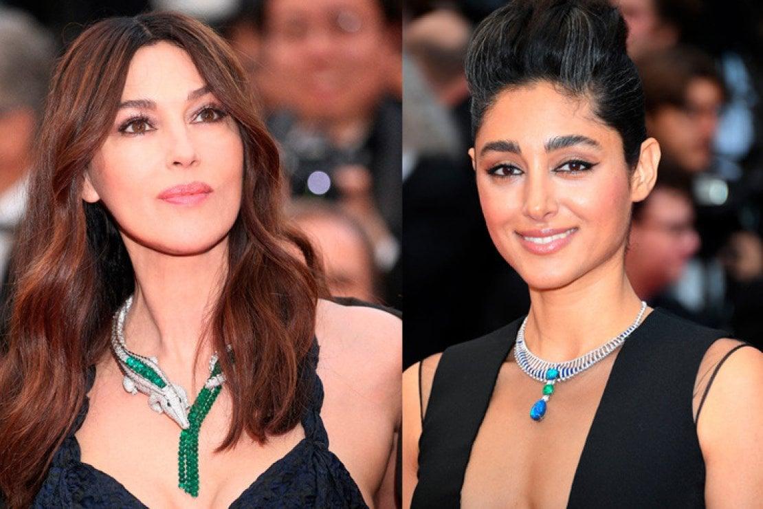 Monica Bellucci e Golshifteh Farahani al Festival di Cannes