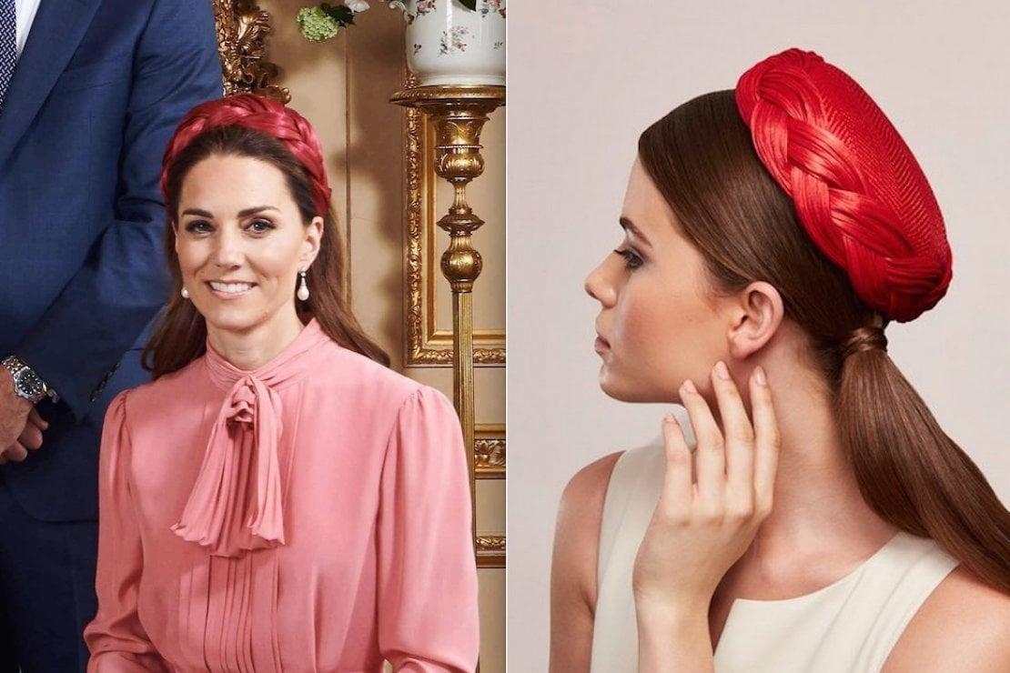 Cerchietto o cappellino? Sul look di Kate Middleton è dibattito sui social