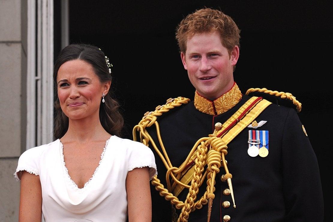 Pippa e il principe Harry al matrimonio di William e Kate, loro fratelli maggiori. 29 aprile 2001