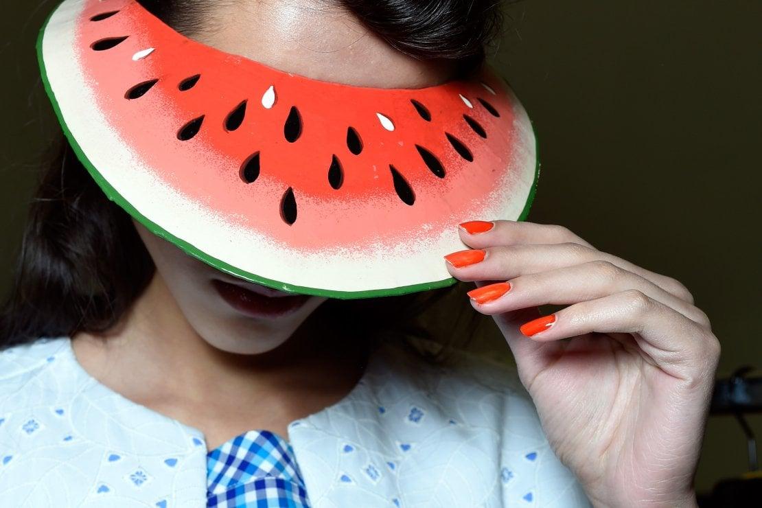 Arancione e giallo per le unghie dell'estate
