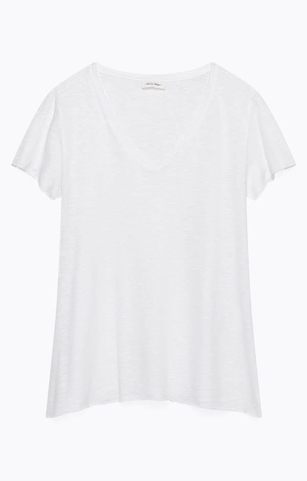 T- shirt di lino, American Vintage