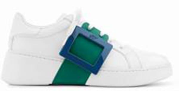 Sneakers con maxi fascia, Roger Vivier