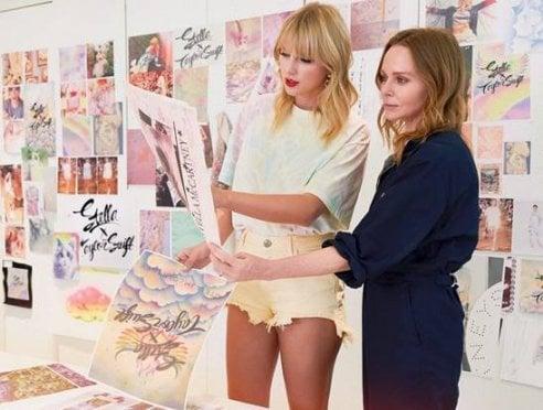 Stella x Taylor Swift: la collezione eco che si ispira al disco Lover