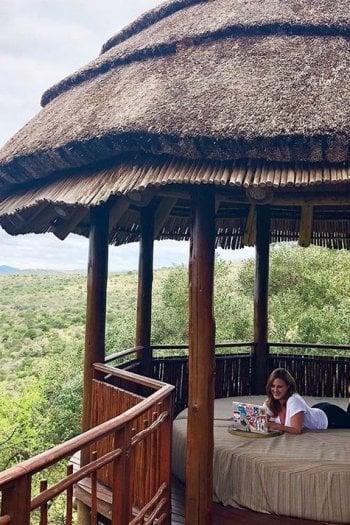 Foto dall'account di @lindsaytigar che con #RemoteYear si è recata a lavorare in Sudafrica