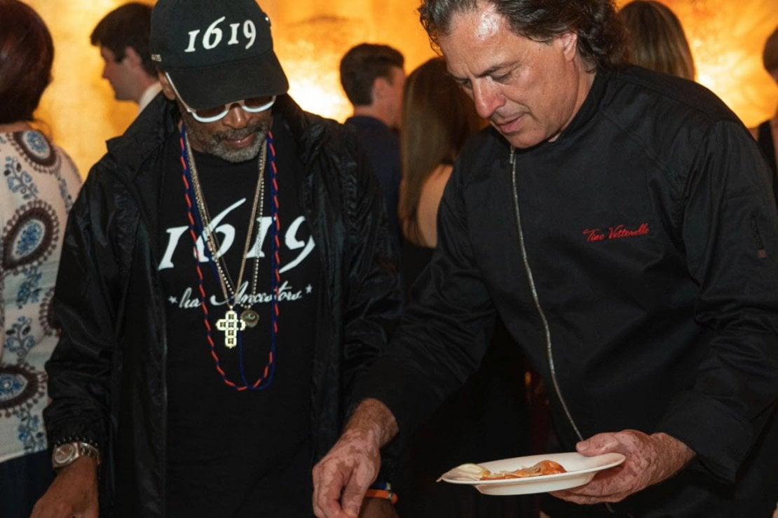 Video: Venezia 76, da Meryl Streep a Spike Lee, tutti alla tavola dello chef Tino Vettorello